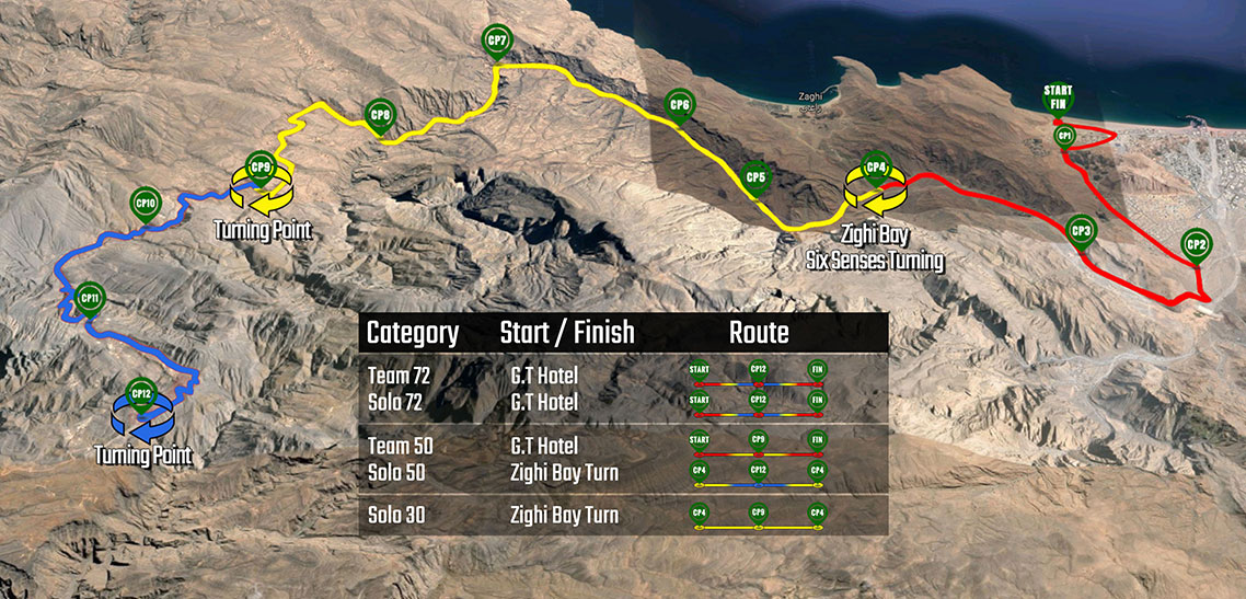 New routes announced for Salomon Wadi Bih Run 2017