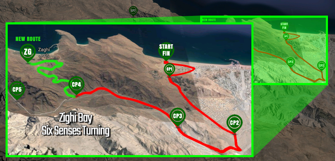 Salomon Wadi Bih Run 2017 day 2: Course route redirected to Zighy Bay due to flash flooding